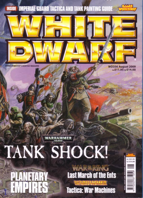 White Dwarf Magazine June 2012 - Pics about space
