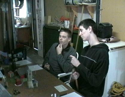 Brad and Craig.